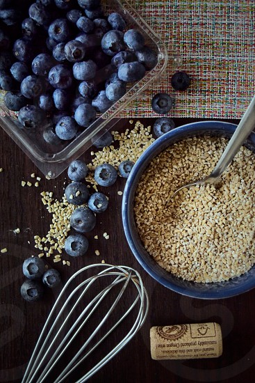 blueberry and quinoa  photo