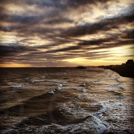 View of Hove from Brighton Pier Sept 2014 photo