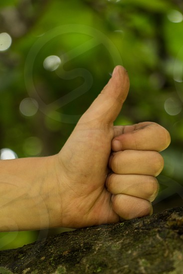 tumb up photo