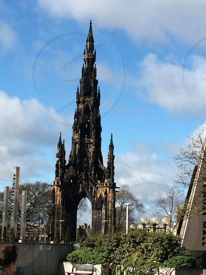 Scott monument - Edinburgh photo
