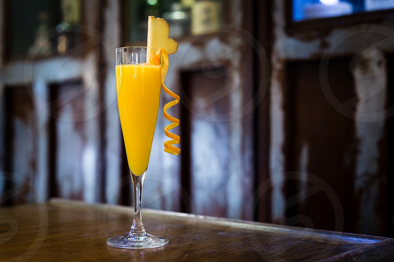 St. Cement's Mimosa - Tea / Prosecco / Grand Marnier Cocktail photo