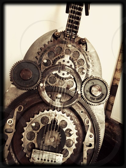 The Steampunked Guitar photo