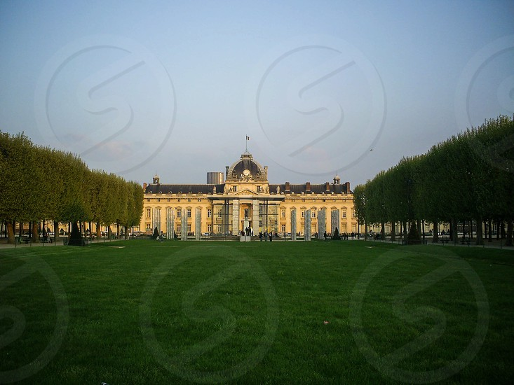 Champ de Mars - Paris France. photo