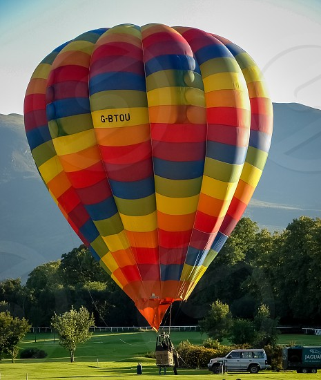 multicolored air balloon photo