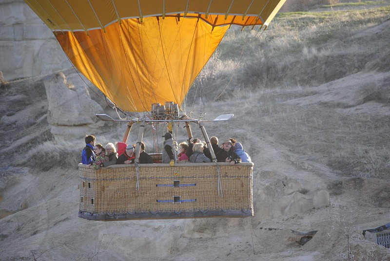 Hot air ballooning Cappadocia Turkey photo