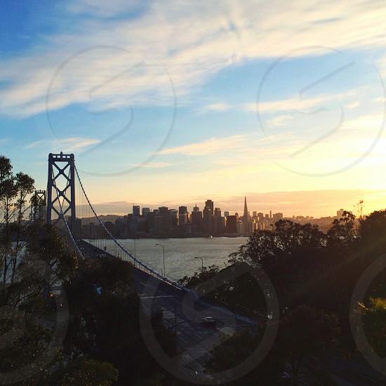 Bay Bridge. SF.  photo