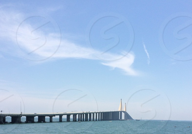 St. Pete Florida bridge skyway bridge photo