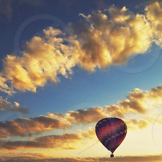 multicolored air ballon photo