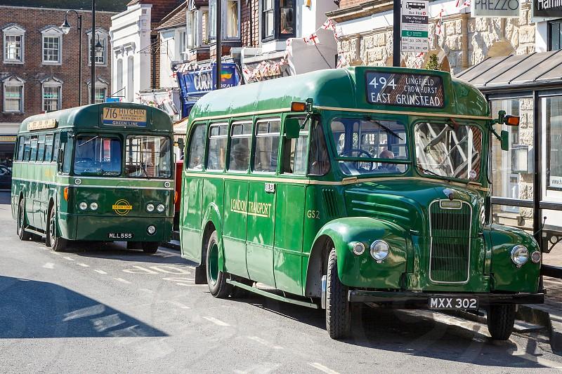 East Grinstead Vintage Bus Rally photo