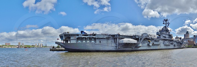 The Intrepid Sea Air and Space Museum in New York City photo