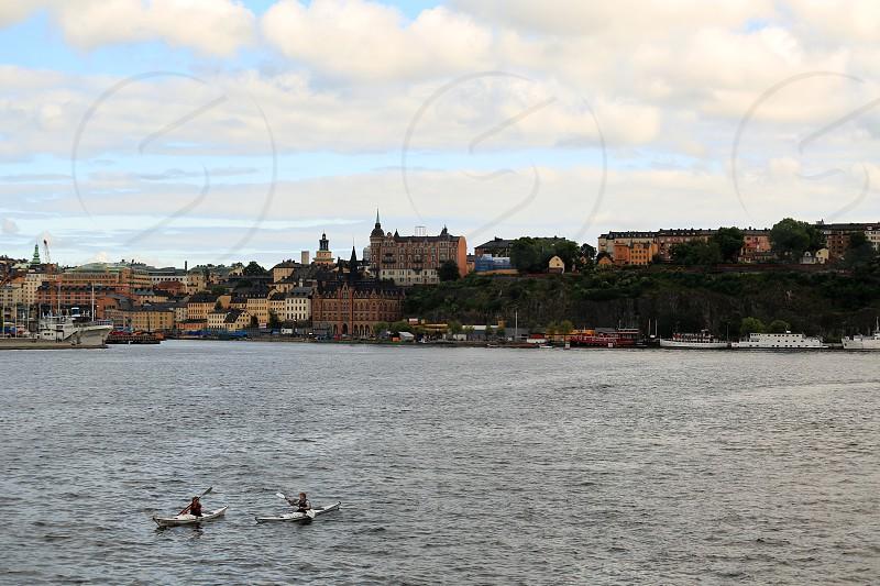 Kayaking in Sweden Nordic area Svenska photo