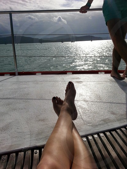sailing around the Whitsundays photo