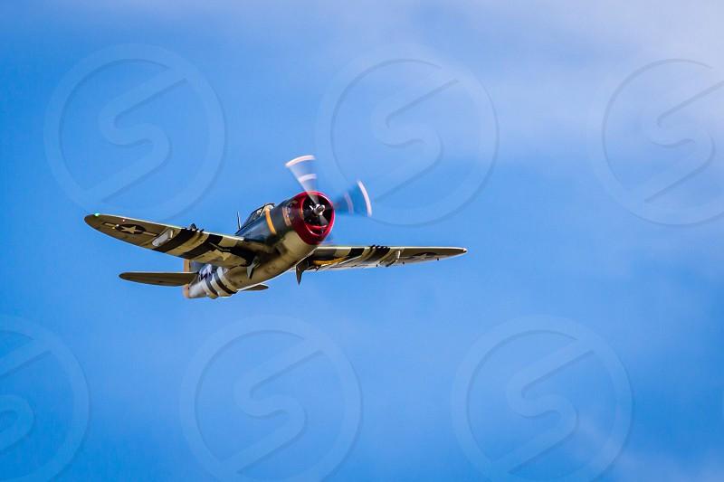 P47 Thunderbolt  vintage ww2  photo