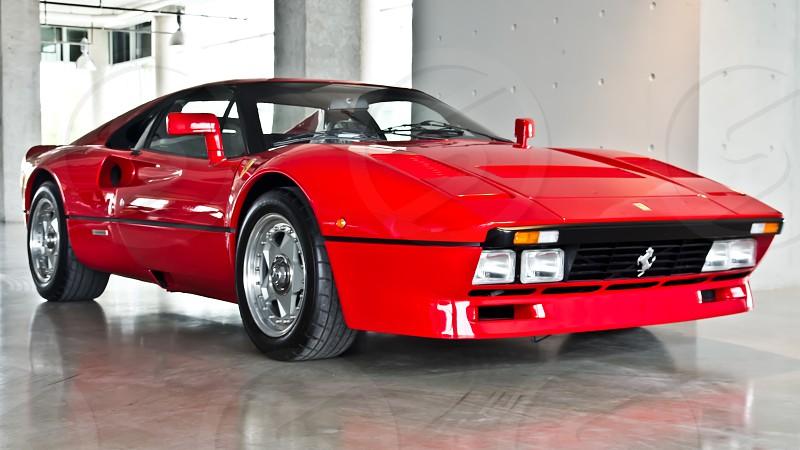 '84 Ferrari GTO photo