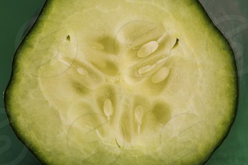 Cucumber close up. photo