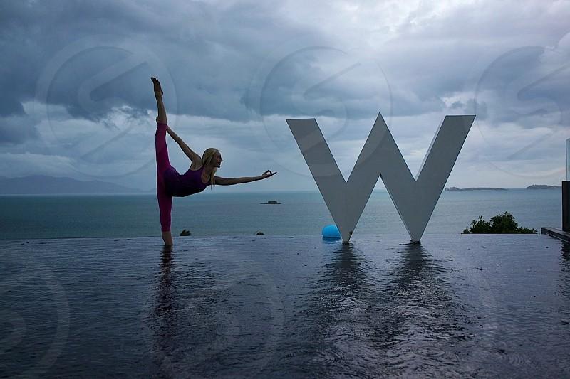yoga @ the w Koh Samui Thailand photo