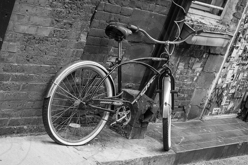 Lonely Bicycle  photo