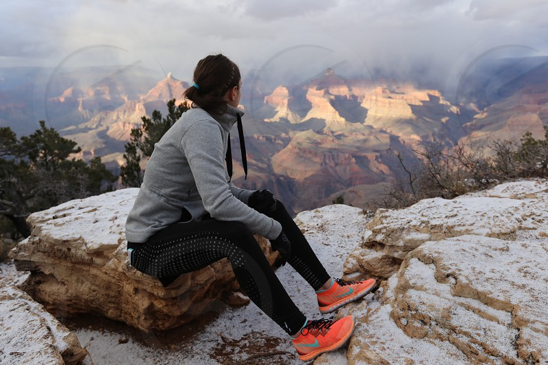 Grand Canyon hike photo
