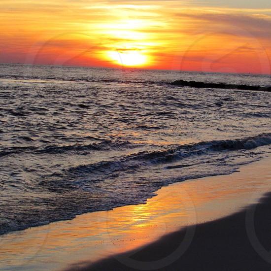 Sunset Beach Cape May NJ photo