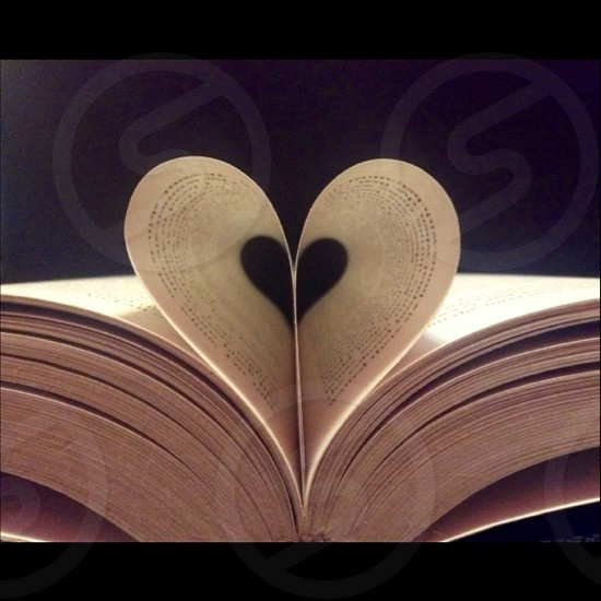 Love In The Pages Of A Book photo