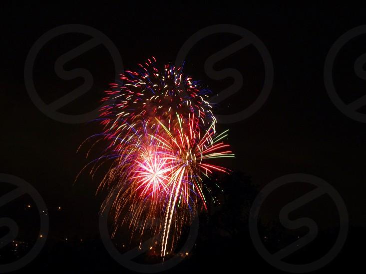 Fireworks celebration in Pennsylvania 2013 photo