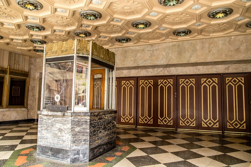 Historic Warner Grand Theater in San Pedro CA opened in 1931. photo
