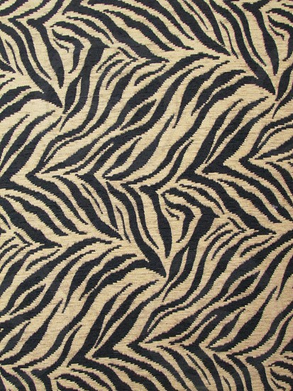 Zebra print fabric. Textile pattern texture wallpaper background backdrop photo