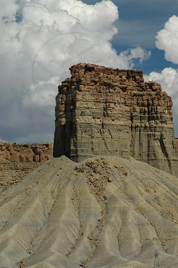 Butte. photo