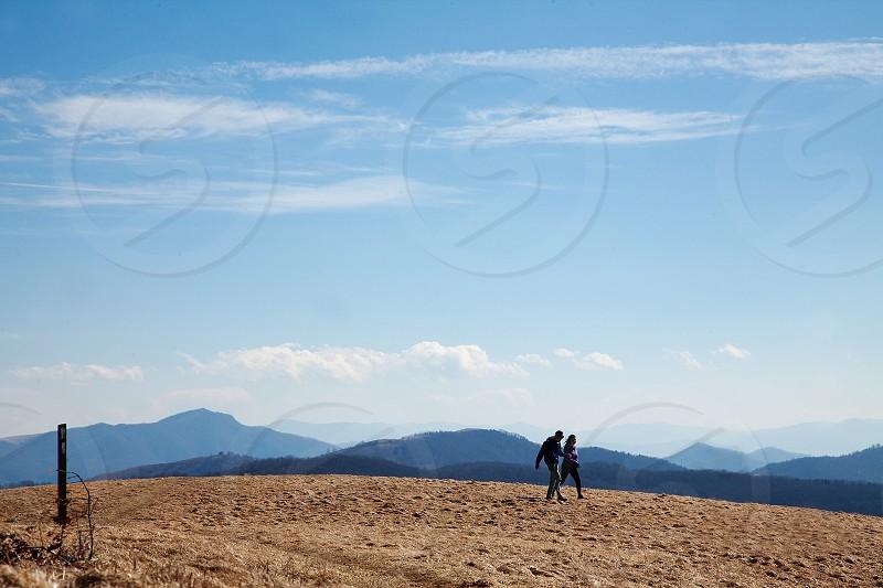 Max Patch; Appalachian Trail; North Carolina; hiking; adventure; travel; mountains; explore; couple photo