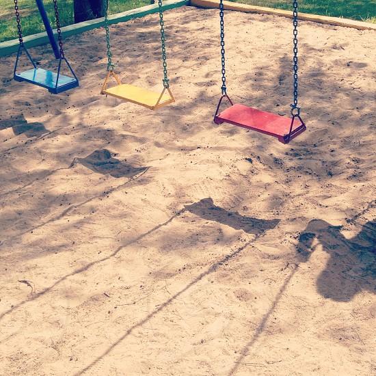 Swings colors photo