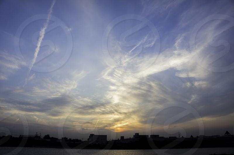 Sunset Chiba Japan photo