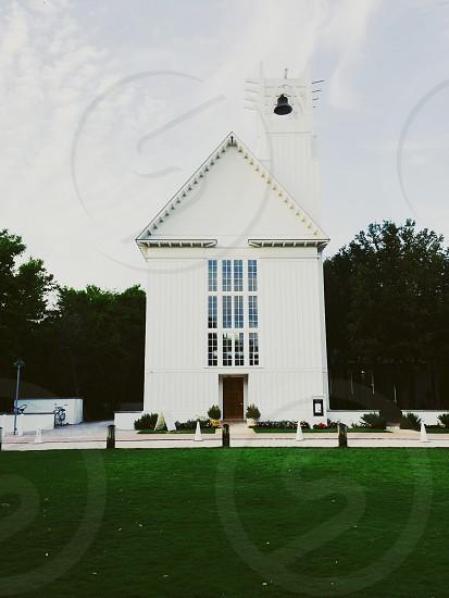 white painting church photo