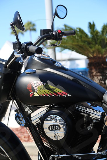 Motorcycle Indian photo