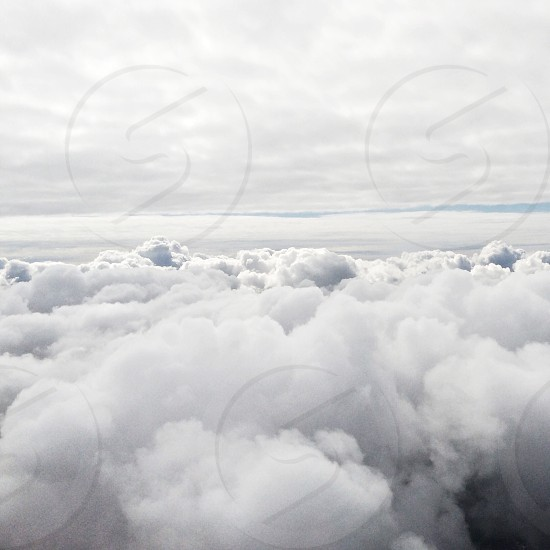 view of clouds photo