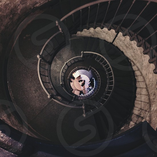 spiral stairs photo
