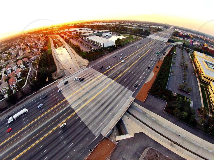 5 freeway in Irvine/Tustin.  photo