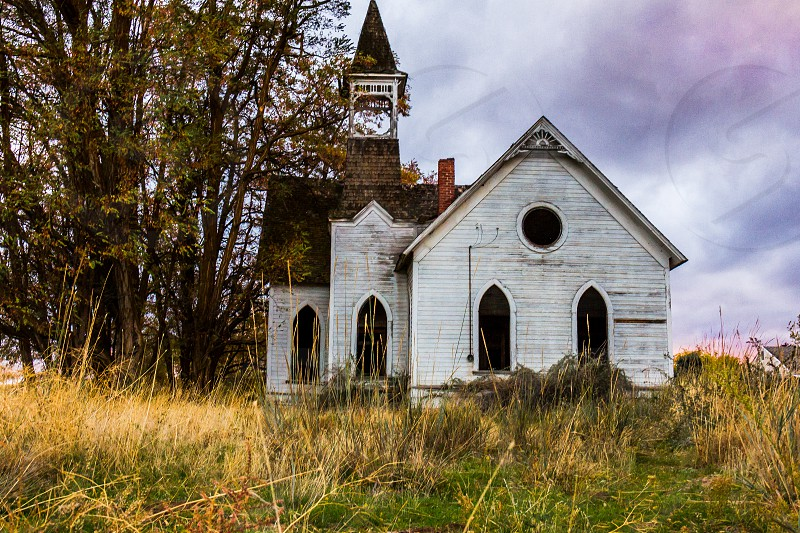 Church abandon church abandon building landscape photo