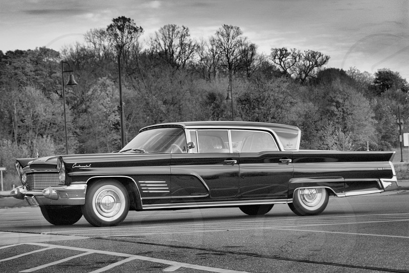 Vintage  Lincoln Continental. photo