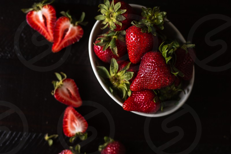 strawberry food food photography product photography photo