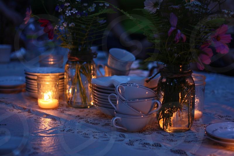 Summer Night Tea Party photo