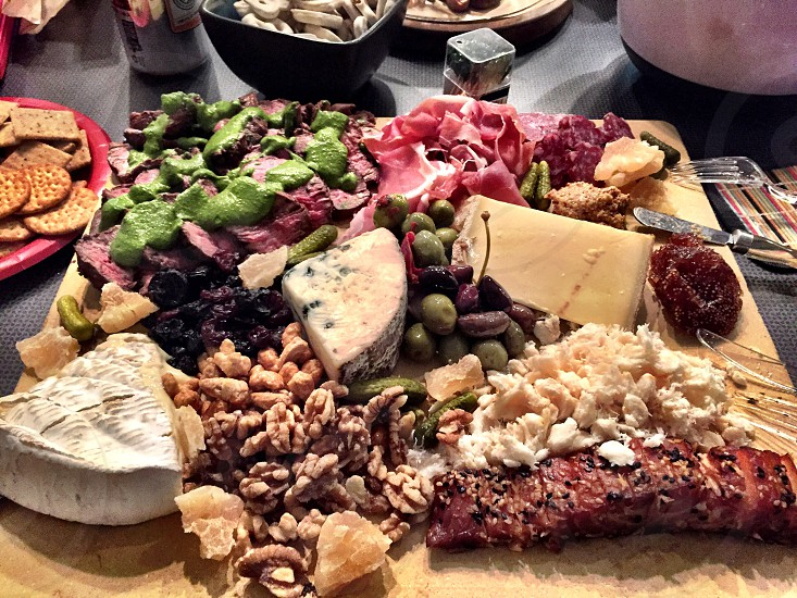 Charcuterie plate photo