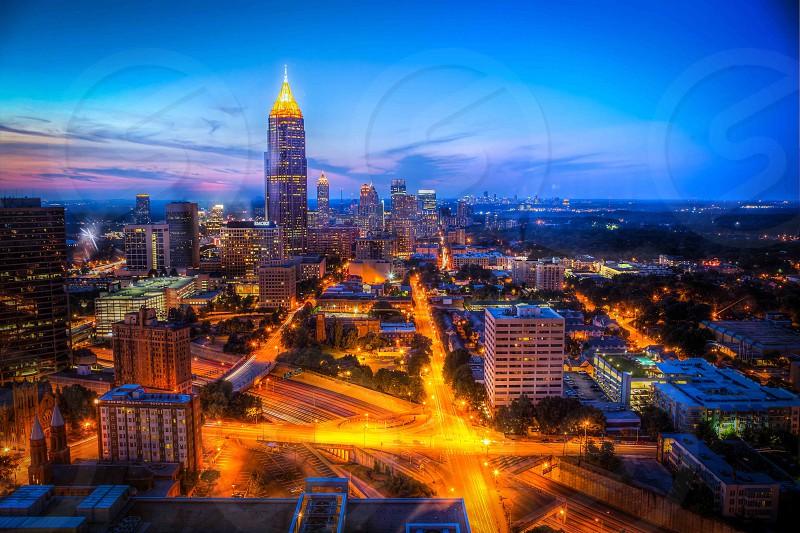 Downtown Atlanta photo