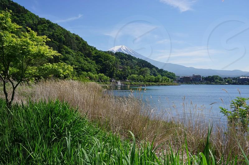 Lake Kawaguchi - Fujikawaguchiko Japan photo