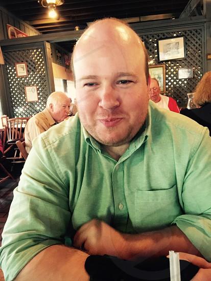 Man husband goofy smirk smile handsome photo