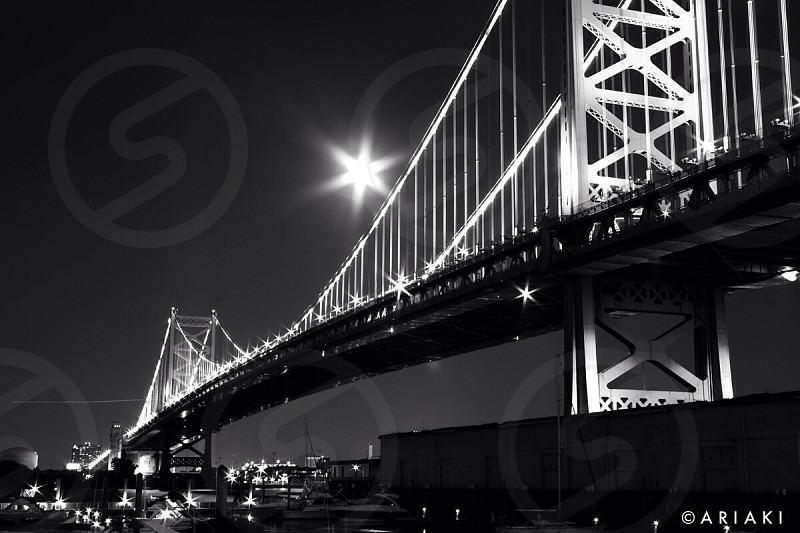 Ben Franklin bridge - Philadelphia  photo