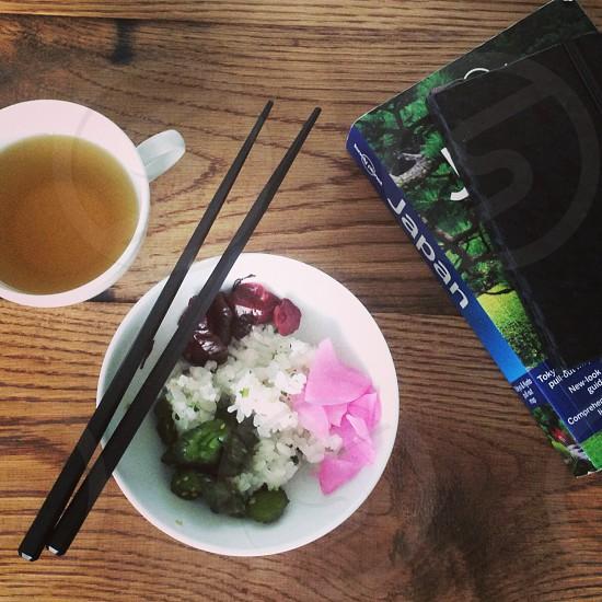 tsukemono breakfast. photo