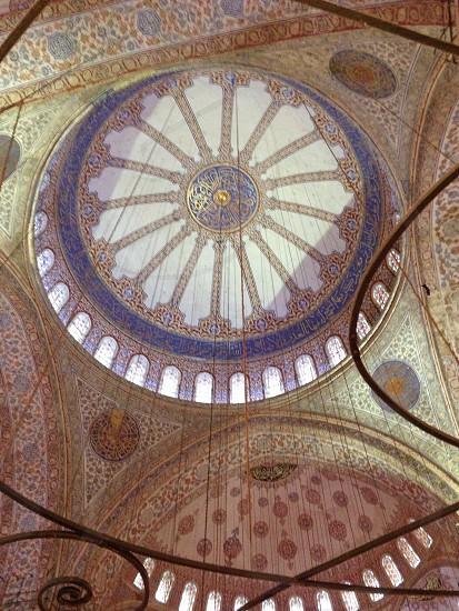 Blue Mosque.  photo