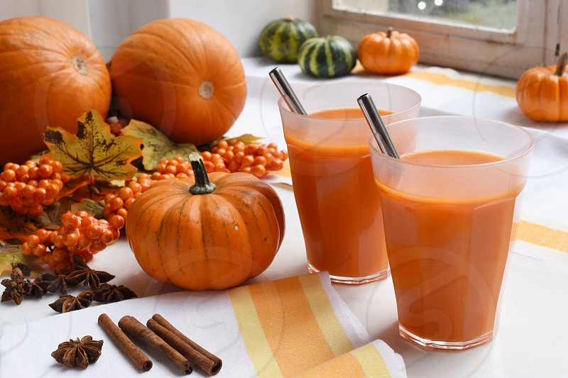 Pumpkin juice  photo