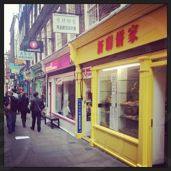 Streets of London China Town photo