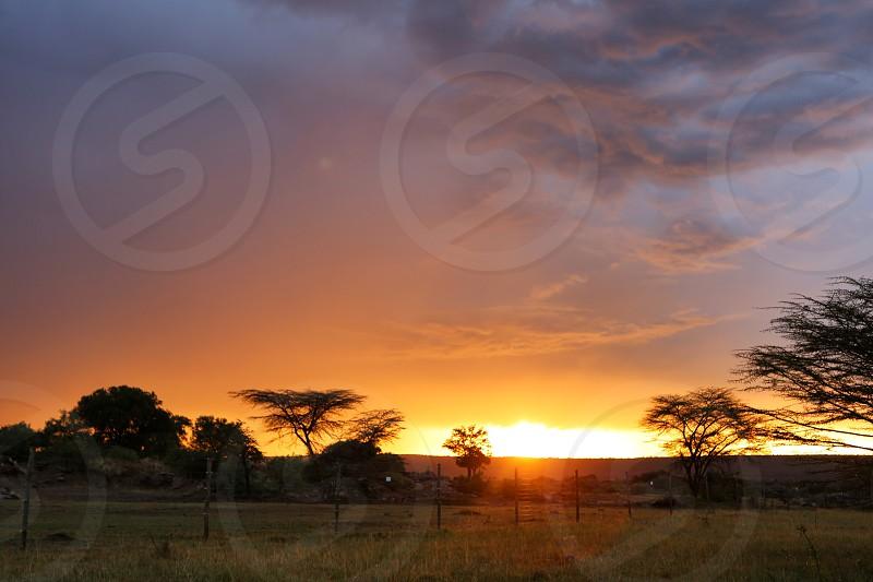 Beauty. Wonderful sunset.  photo